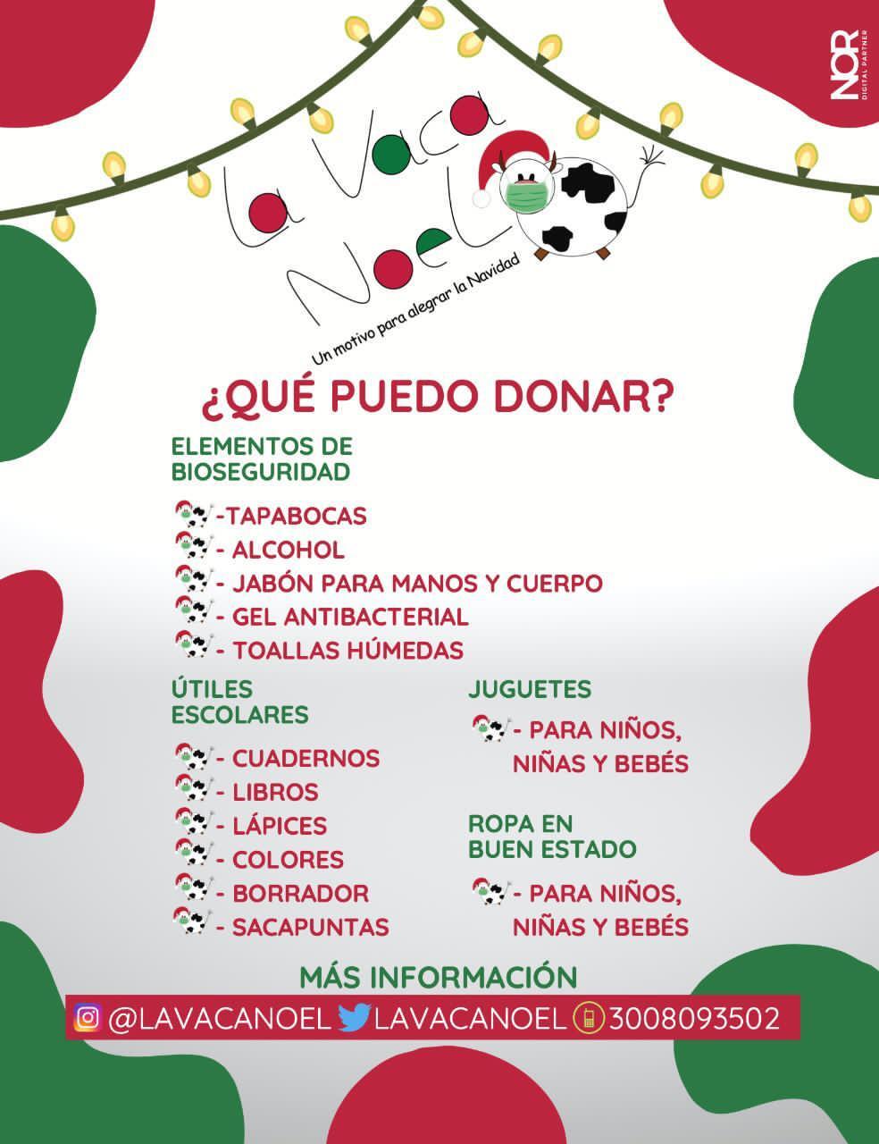 https://www.notasrosas.com/'La Vaca Noel': catorce años recolectando alegría para niños y niñas en Navidad