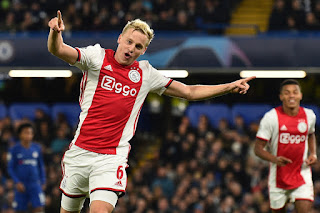 Manchester United set to edge Real Madrid and Juventus to the signing of Ajax midfielder
