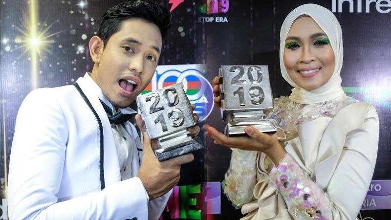 AME 2019: Khai Bahar, Siti Nordiana Ungguli Top Top MeleTOP ERA 2019