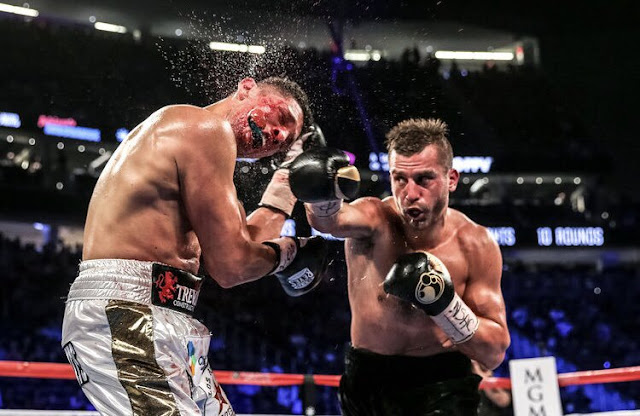 David Lemieux Ends Spike O'Sullivan in One Round