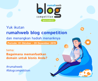 Lomba Blog Rumahweb Berhadiah Uang Total 7,5 Juta Rupiah