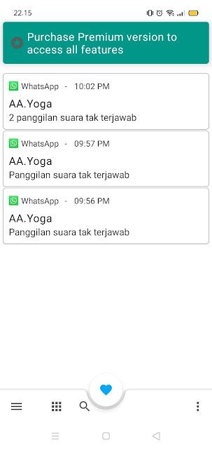 Cara Melihat Log Panggilan Whatsapp yang Dihapus 3
