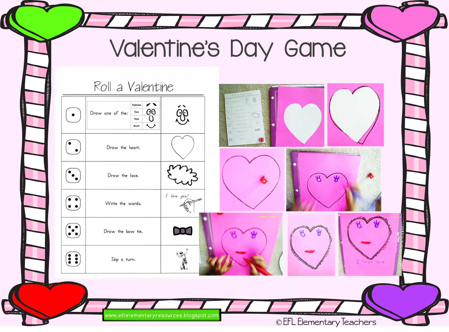 Efl Elementary Teachers Valentine S Day Ideas For