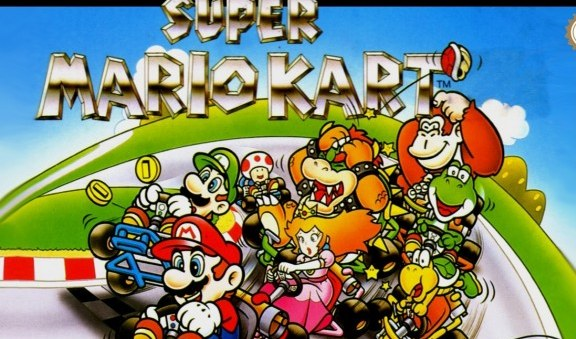 Super Mario Kart goes mental with 101 players!