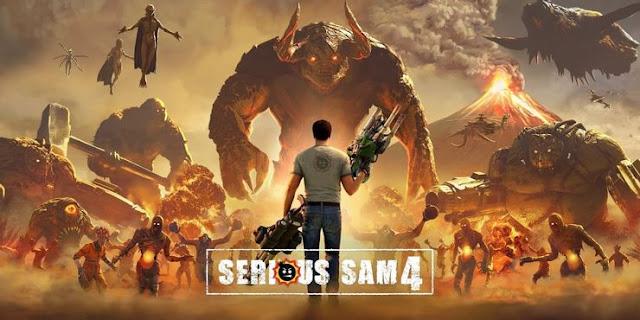 تحديث لعبة Serious Sam 4 يضيف حدث عيد الميلاد