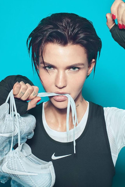 Pictures of Ruby Rose for Nike 2017