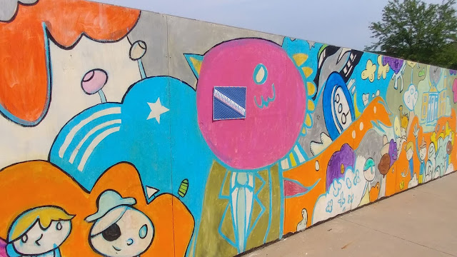 Mural in Liberty, MO