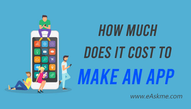 How Much Does It Cost to Make an App in 2021?: eAskme