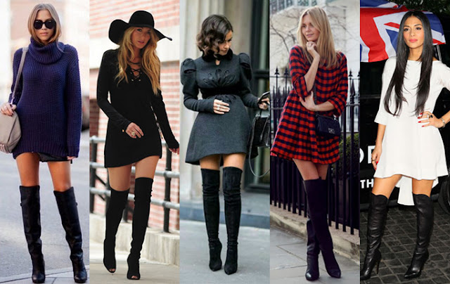 Botas Over The Knee