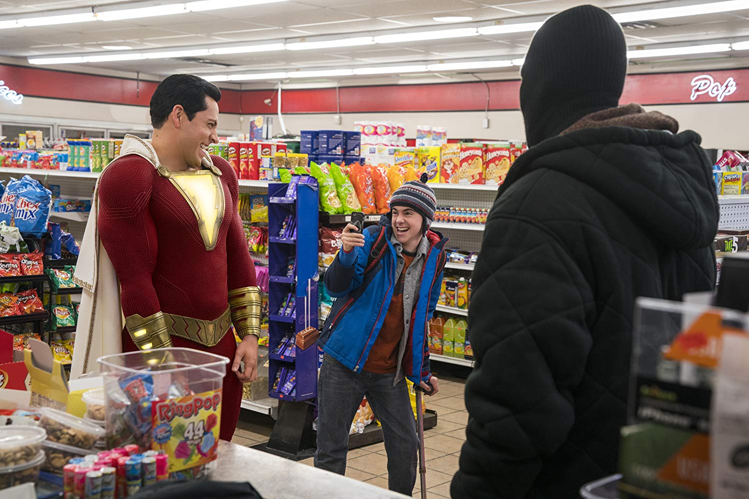 DC Comics, Shazam, Zachary Levi, Superheroes, Mark Strong, movie review, Action, Comedy, Fantasy, Rawlins GLAM