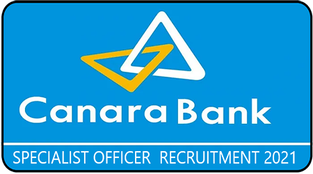 canara bank recruitment 2021