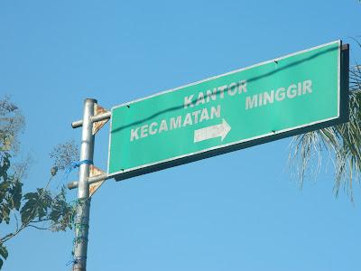 Profil Kecamatan Minggir Sleman