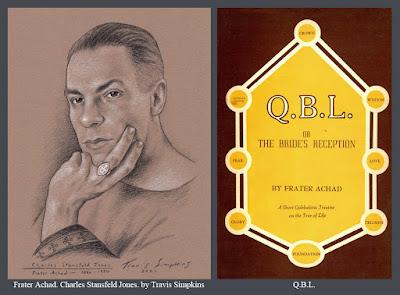 Frater Achad. Charles Stansfeld Jones. Occultist. Ordo Templi Orientis. Qabalah. QBL. by Travis Simpkins