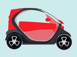 kendaraan listrik renault twizy