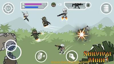 تحميل لعبة Mini Militia MOD APK احدث اصدار 2021 - غير محدودة للاندرويد