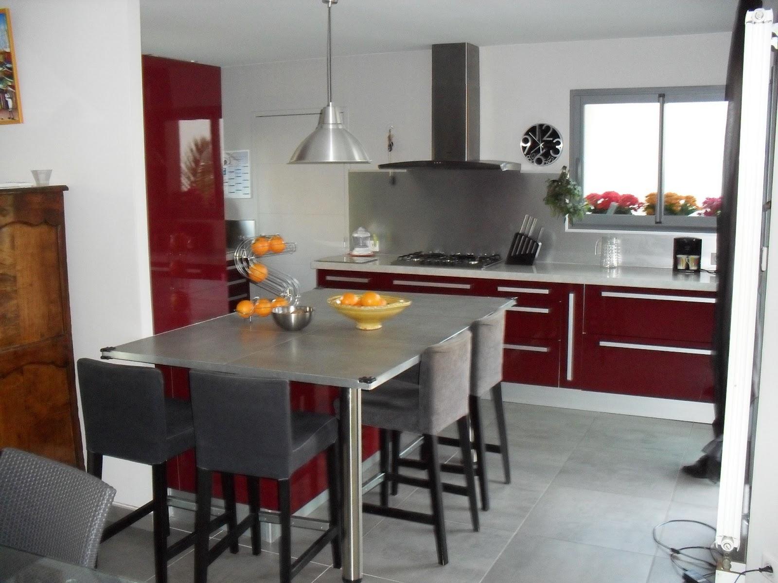 cuisine quip e avec lectrom nager. Black Bedroom Furniture Sets. Home Design Ideas