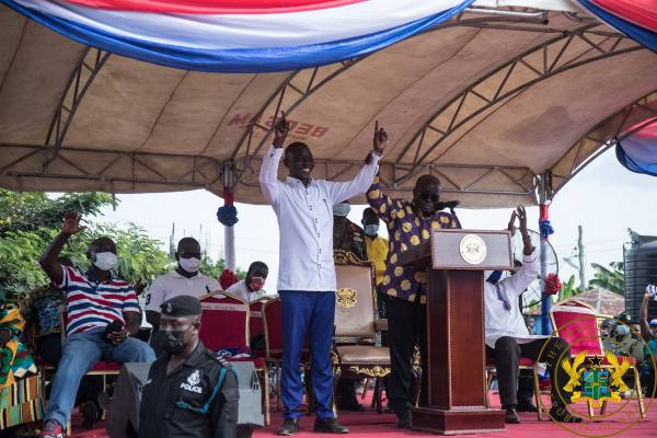 """Ghanaians Want Progress, Not A 'Dumsor, Backward, Abysmal' Leader"" – President Akufo-Addo"