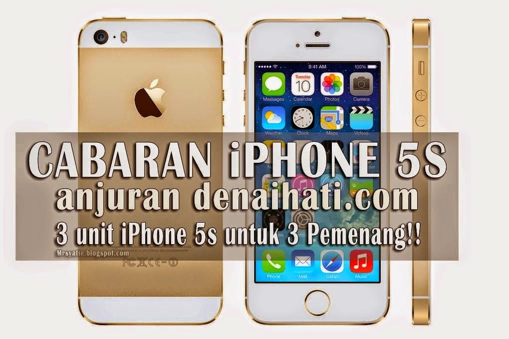 Keputusan Cabaran iPhone 5s by Denaihati