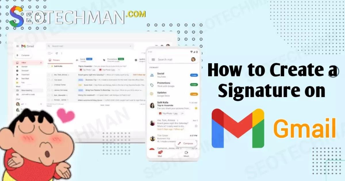 Cara Mudah Membuat Signature atau Tanda Tangan di Gmail agar E-mail Terkesan Profesional