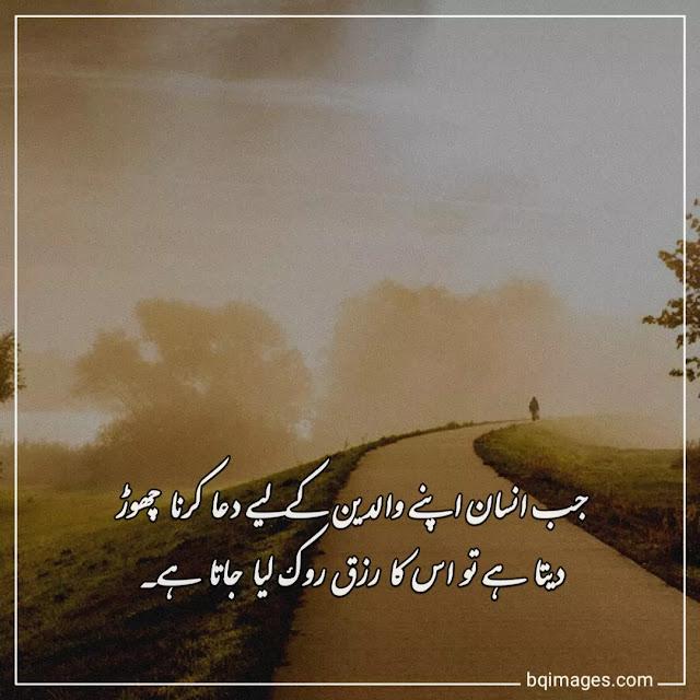 maa baap quotes in urdu