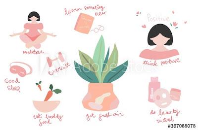 self -love illustration adobe stock