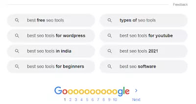 Long Tail Keyword Ideas for Best SEO Tools Keyword