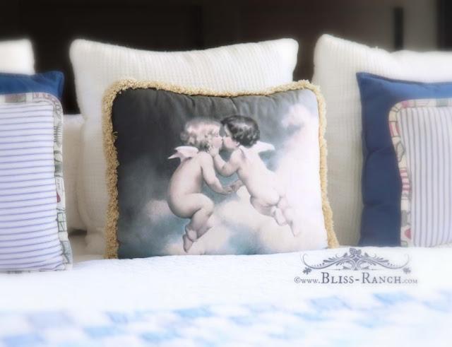 Master bedroom & Perfect Linens Bed Sheets, Bliss-Ranch.com