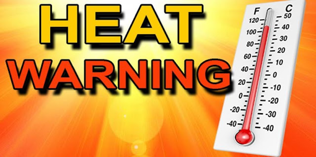 Yellow Weather Alert for Friday: Extreme high temperatures expected