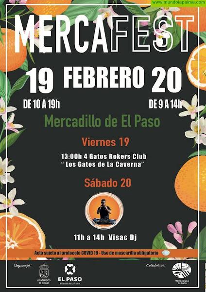 'MercaFest' vuelve en febrero con las actuaciones de 4 Gatos Rockers Club y Visac DJ