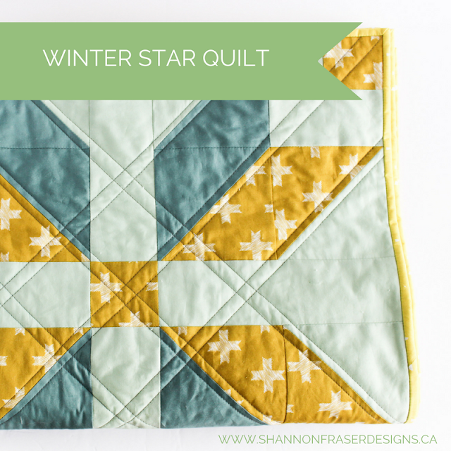 Best of 2016 | Winter Star Quilt | Modern Quilting | Shannon Fraser Designs