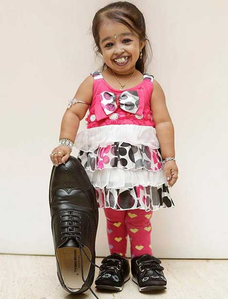 World's shortest woman Jyoti Amge