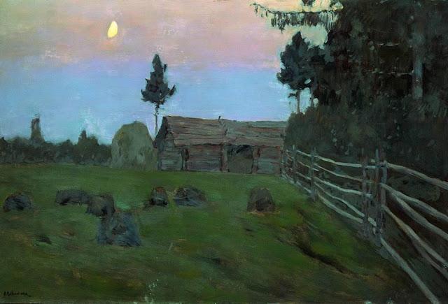 Исаак Ильич Левитан - Сумерки. 1899