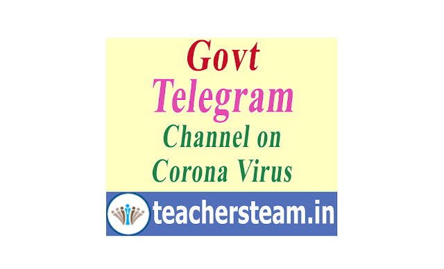 Corona Help Desk through Telegram Channel by Central Government