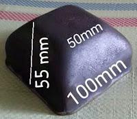 Kaki palet 100 x 100 untuk hollo 50
