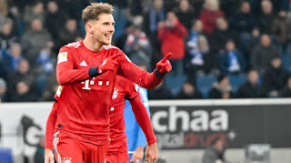 Bayern's midfielder Goretzka reveals he doesn't regret turning down Barca two years ago