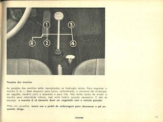 Manual do Proprietário Fusca 1972