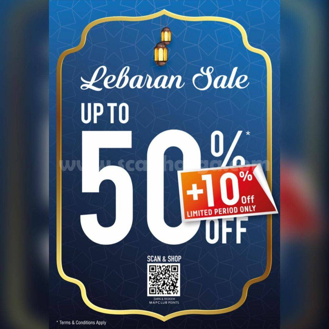 Promo PLANET SPORTS SPECIAL WEEKEND! LEBARAN SALE up to 50% Off