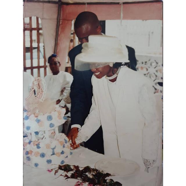 Iyabo Ojo Shares Wedding Photos, Curses Kemi Ashefon | Alabosi.com