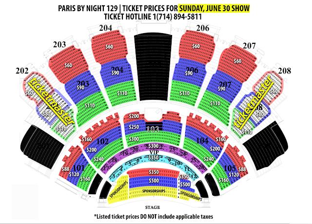 Hé lộ khán phòng diễn show PBN 129 với giá vé cao ngất ngưỡng