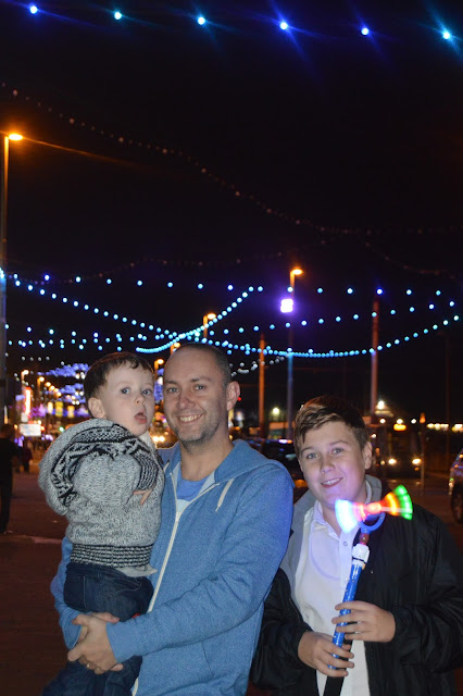 standing in blackpool