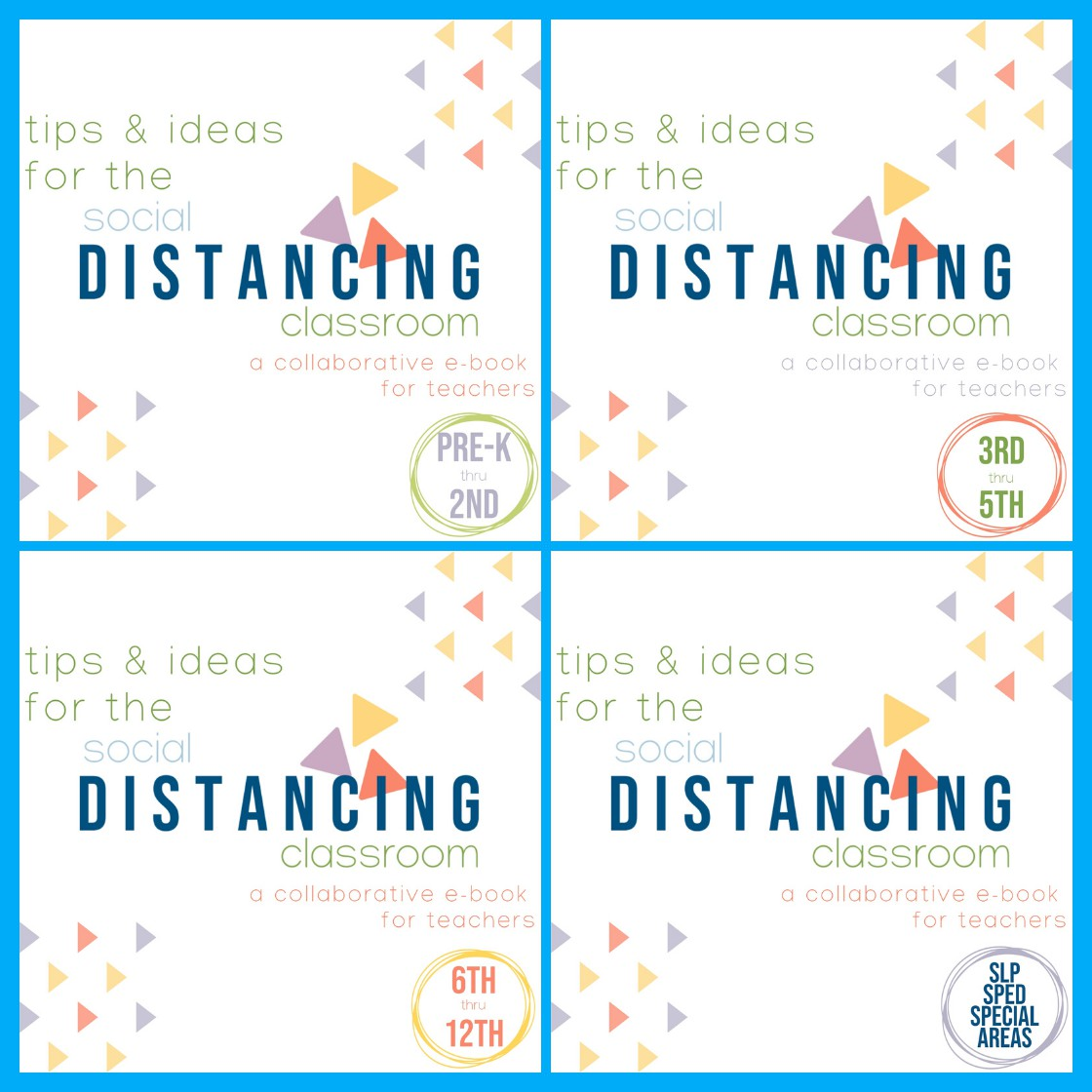 Find tips & ideas for virtual teaching and teaching in social distancing classrooms in 4 free ebooks created by TpT teacher-authors for Back to School 2020 | The ESL Nexus