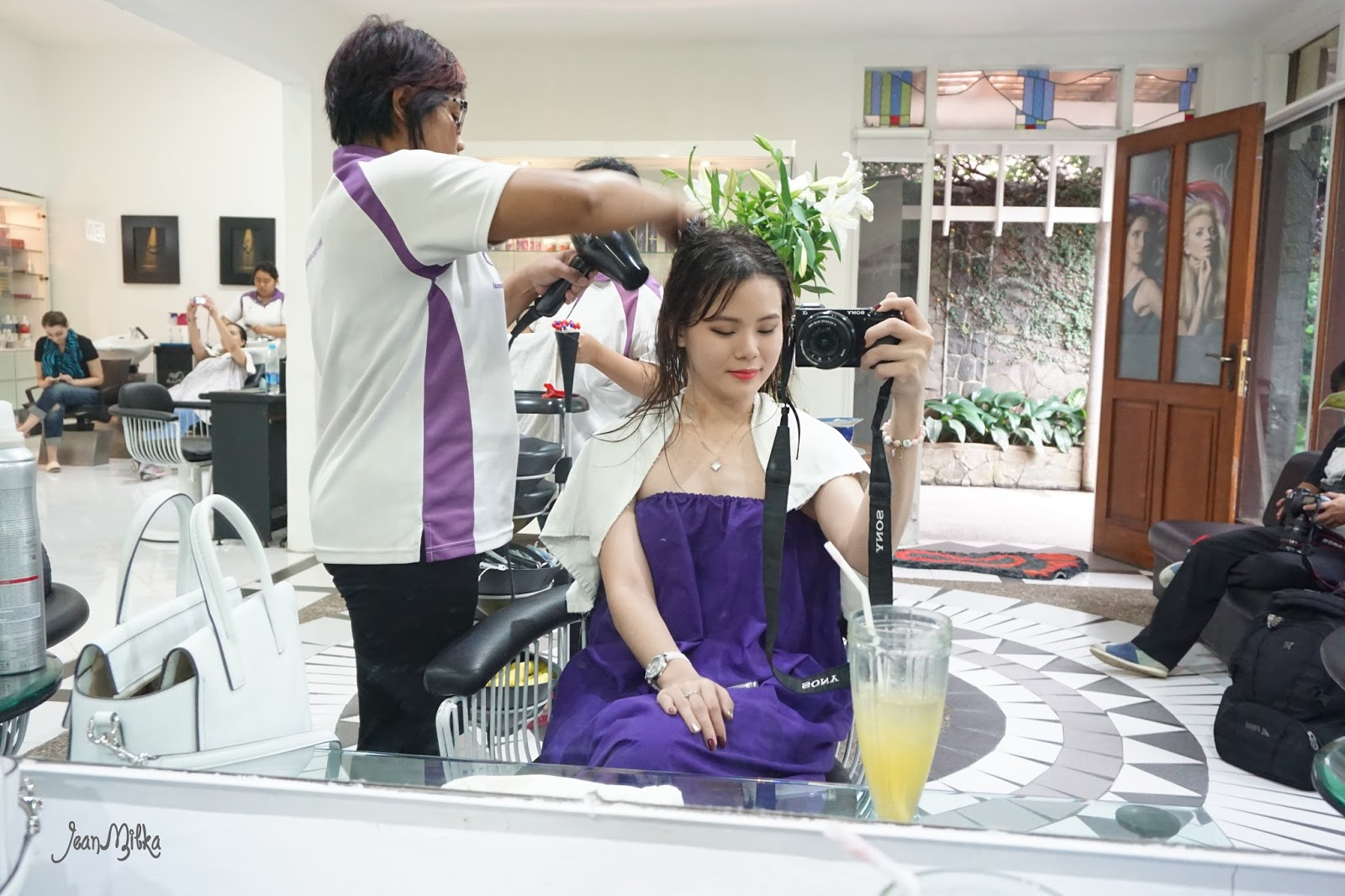 hair, treatment, wella, sp, luxeoil, beauty, salon
