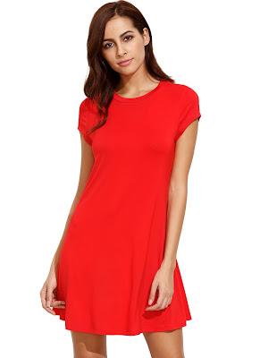 Vestidos Rojos Cortos 2017