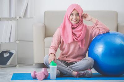gaya busana hijab modern