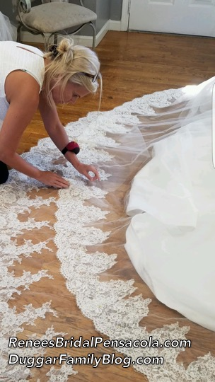 Renee Adds Finishing Touches
