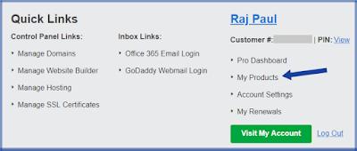 insert domain blogspot