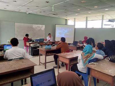 14 Operator Madrasah Tanjungbalai Adakan Sosialisasi Persiapan UMBK