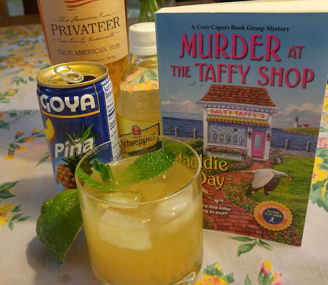 Rum Coolers and Murder at the Taffy Shop
