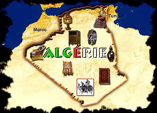 مشروع رسم خريطة لانتشار الصناعات التقليدية في الجزائر