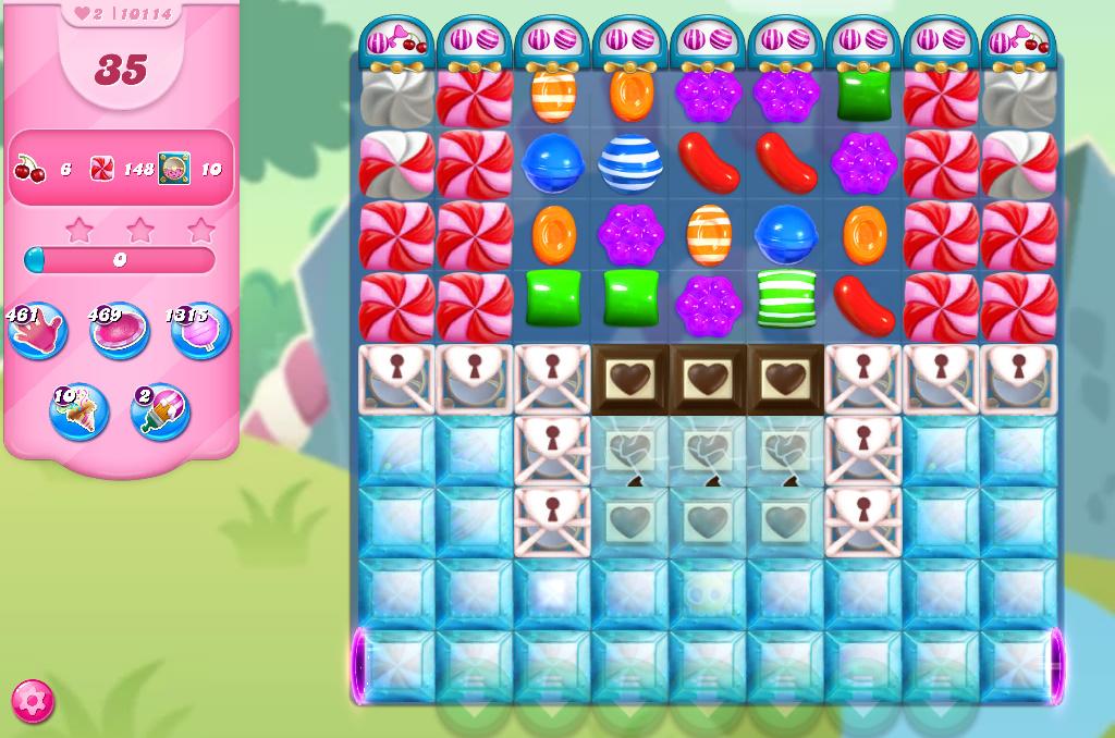 Candy Crush Saga level 10114